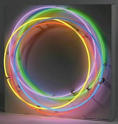Gregorio Vardanega: :  Chromatic Light Circles | Art and Desire | Scoop.it