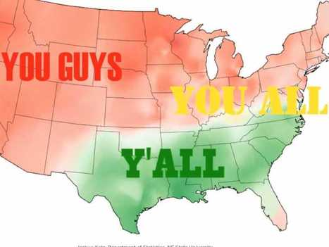 These Maps Prove Americans Speak Totally Different Versions of the English Language | Teaching a Modern Business Communication Course | Scoop.it