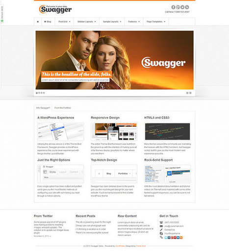 35+ Best Business WordPress Themes 2013 | Best WordPress Themes | Scoop.it