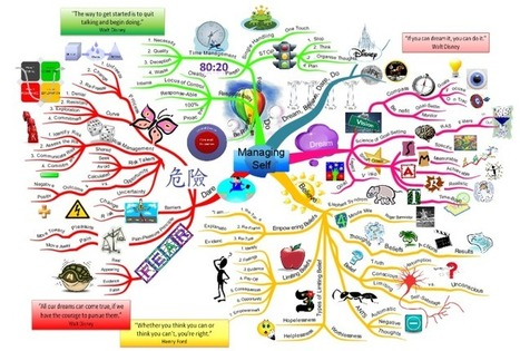 Managing Self mind map | Cartes mentales | Scoop.it