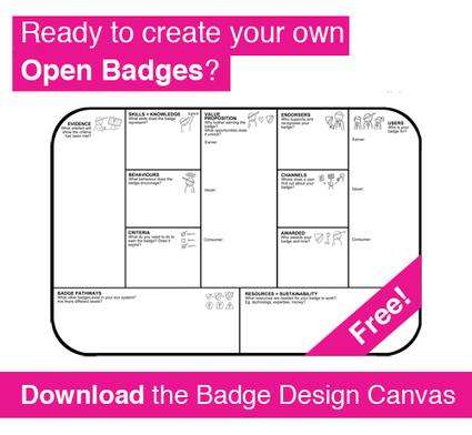 Badge Design Canvas | DigitalMe | Moodle and Mahara | Scoop.it