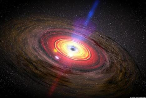Black Hole Bonanza Discovered In Neighboring Galaxy   Cosmos and us   Scoop.it