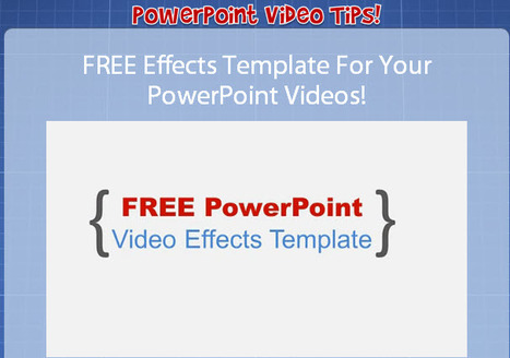 Free PowerPoint Video Template - Training and PPT Video Tutorials | Roadkill Marketing Cafe Insights and Foresights. | Scoop.it