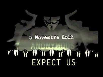 Il 5 novembre Anonymous colpirà ancora | ToxNetLab's Blog | Scoop.it