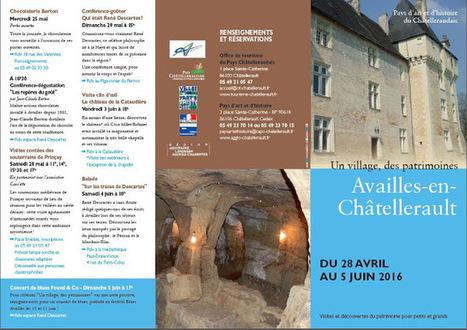 @Lulusorciere Archive Availles-en-Châtellerault.: Un village, des patrimoines. Du 28 avril au 5 Juin 2016. | Chatellerault, secouez-moi, secouez-moi! | Scoop.it