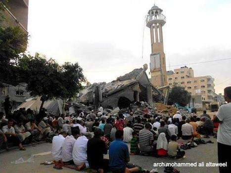 #GazaUnderAttack | July 28, 2014  Eid Under Fire in Gaza - In Photos | Occupied Palestine | Scoop.it