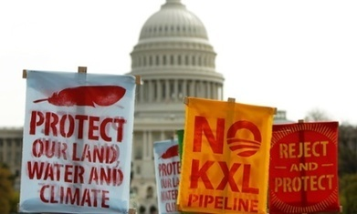 Obama's Keystone veto threat is proof that climate activism works, no matter what the 'insiders' say | Peer2Politics | Scoop.it