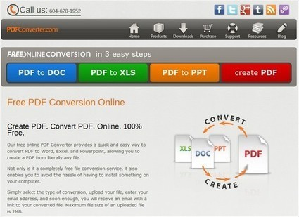 Convertir des fichiers PDF en DOC, XLS ou PPT | Time to Learn | Scoop.it