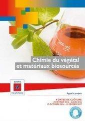 Chimie du végétal et matériaux biosourcés – ADEME | Institut de Recherche Dupuy de Lôme - CNRS FRE 3744 | Scoop.it