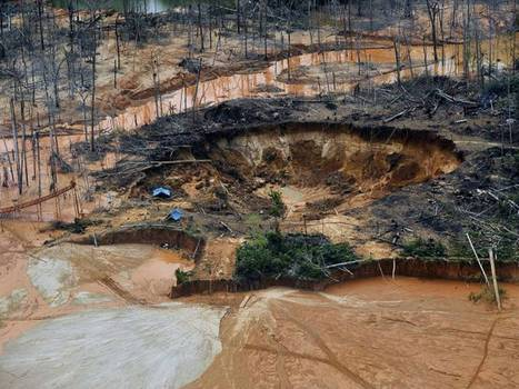 Destruction of Peru's rainforest by illegal gold mining is twice as bad as experts thought | Environment and Conservation News | Scoop.it