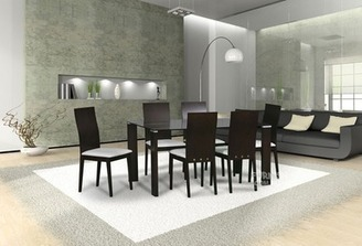 CORNWALL dining setting, 7 piece, timber and glass - Imgur | Furniture Stores Melbourne : Living Room Furniture | Scoop.it