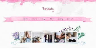 Beauty Blogger Template | Blogger themes | Scoop.it