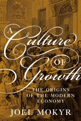A Culture of Growth. The Origins of the Modern Economy - J. Mokyr - Princeton University Press   Parution d'ouvrages   Scoop.it