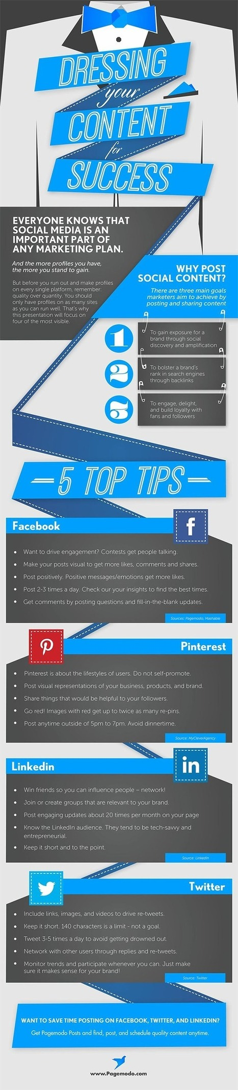 20 Tips to Boost Your Presence on the Big 4 Social Media Networks | Ecommerce | Scoop.it
