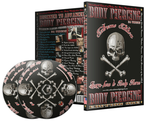 Learn How To Body Pierce DVD Videos   click2sell   Scoop.it