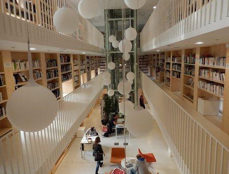 La rénovation de la bibliothèque primée   Architecture et aménagement en bibliothèque   Scoop.it