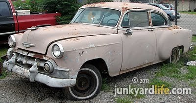 Junkyard Life: Classic Cars, Muscle Cars, Barn finds, Hot rods and ...   1950's   Scoop.it