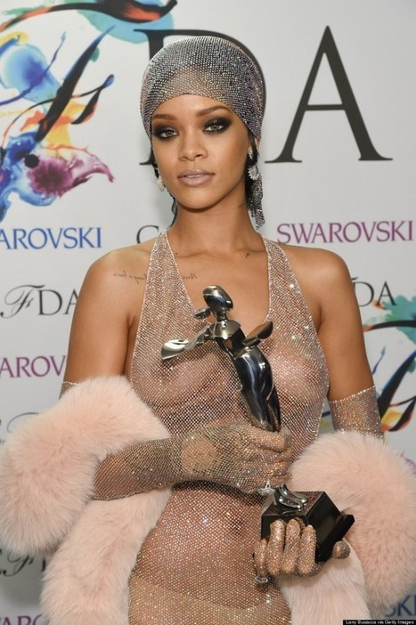 Leaving nothing to the imagination, Rihanna goes nude at the CFDA Awards | arpita2960 | Scoop.it