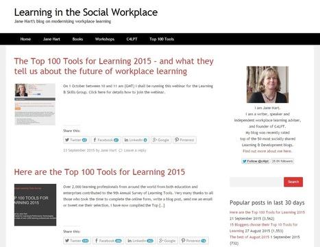 Top 10 Elearning Blogs: Follow these blogs for fresh elearning ideas | APRENDIZAJE | Scoop.it