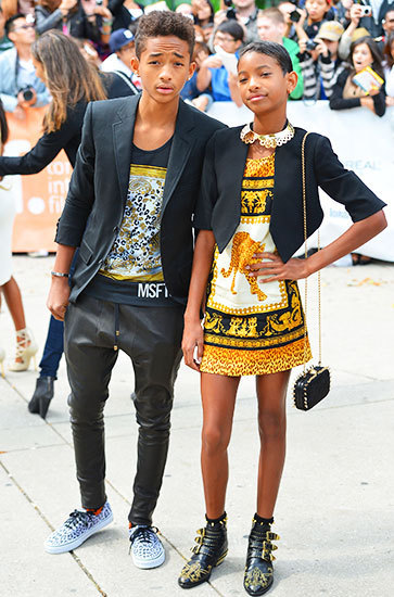 MTV Style | Jaden And Willow Smith Show Off Coordinating Sibling Style | I don't do fashion, I am fashion | Scoop.it