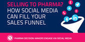 Selling to Pharma ? How social media can fill your sales funnel [Infographic] | Marketing digital des laboratoires pharmaceutiques | Scoop.it