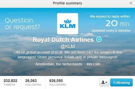 """Embracing Feedback"": Advice on Social Care from KLM 