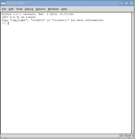Un primer programa en Python | Programación y robótica | Scoop.it