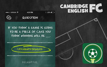 Play our football game, Cambridge English FC | Favorite ELT Sites for Teachers | Scoop.it