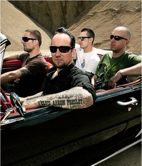 Metalbilly pioneers Volbeat teaches headbangers to shake, rattle androll | Rockabilly | Scoop.it