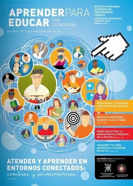 Nuevo número de Aprender para Educar, revista digital sobre Tecnología en la Educación | Coordinador TIC y Escuela 2.0 | Scoop.it