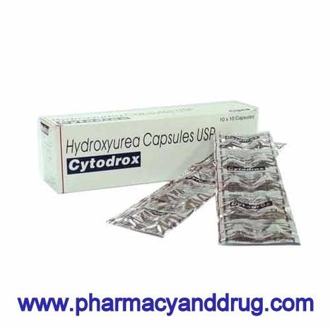 Generic Hydrea, Cytodrox (Hydroxyurea)   Anti Cancer Medicine   Scoop.it