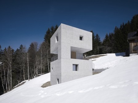 [Laterns, Vorarlberg, Austria] Cabaña en la Montaña / Marte.Marte Architekten | The Architecture of the City | Scoop.it