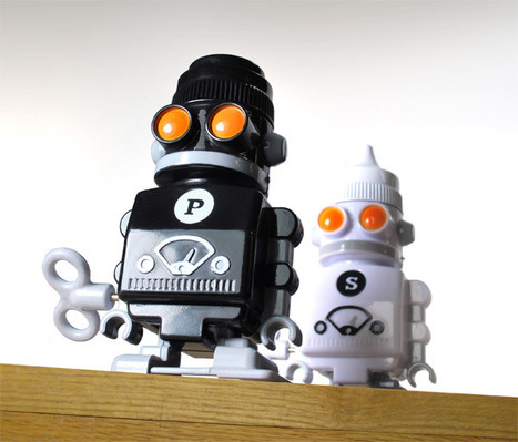 Salt and Pepper Bots for Lazy Condiment Passers | All Geeks | Scoop.it