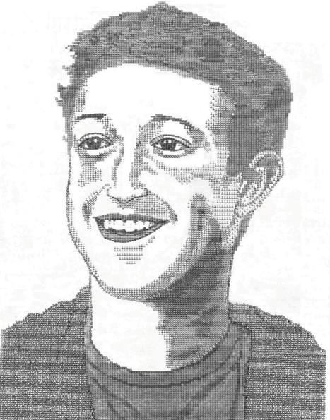 Artist creates portraits of famous personalities using a typewriter | ASCII Art | Scoop.it