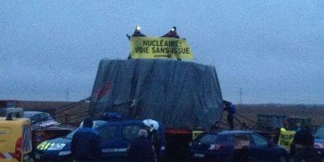 Greenpeace bloque le couvercle de la cuve destiné à l'EPR de Flamanville - le Monde | Actualités écologie | Scoop.it