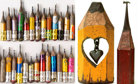 20 Incredible Pencil Sculpture Masterpieces by Dalton Ghetti ... | Looks -Pictures, Images, Visual Languages | Scoop.it