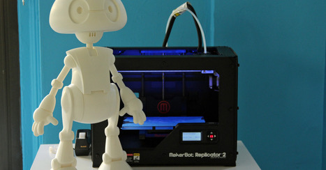 You, Too, Can 3D Print Your Own Robot  [VIDEO] | 3D Printing and Innovative Technology | Scoop.it