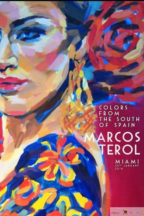 """Art Exhibition """"Colors from the South of Spain"""" on January 30th in Miami 