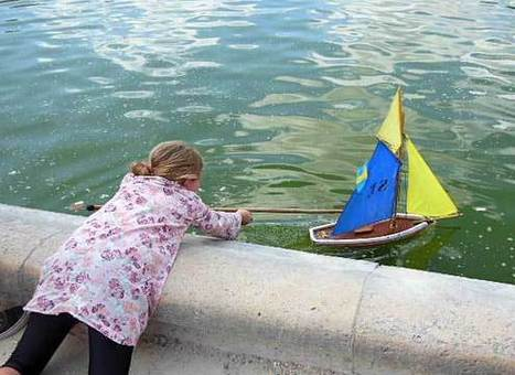 Um mito parisiense: os pequenos veleiros do Jardin du Luxembourg | Urban Life | Scoop.it