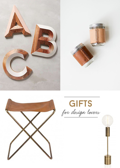 Happy Interior Blog: Gift Ideas For Design Lovers | Déco Design | Scoop.it