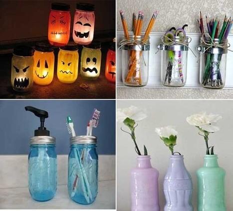 35 ideas creativas para reciclar y decorar con - Ideas creativas para decorar ...