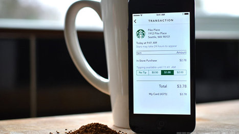 Starbucks' new app lets you tip baristas digitally | TDC News | Scoop.it