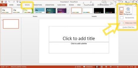 The SlideTalk blog: How to choose the optimal PowerPoint slide size for a SlideTalk video   SlideTalk's eLearning Watch   Scoop.it