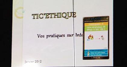LUDOVIA TV: Comment sensibiliser les élèves aux usages de l'Internet : TIC'ETHIQUE dans un collège de l'Essonne | Usages des solutions eInstruction | Scoop.it