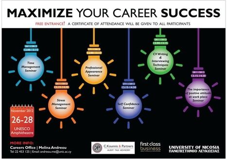 Maximize Your Career Success | University of Nicosia Library | Scoop.it