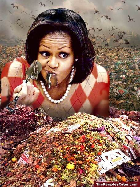 "Is Michelle Obama's ""natural food"" campaign designed to hide the White House attack on organic food? 