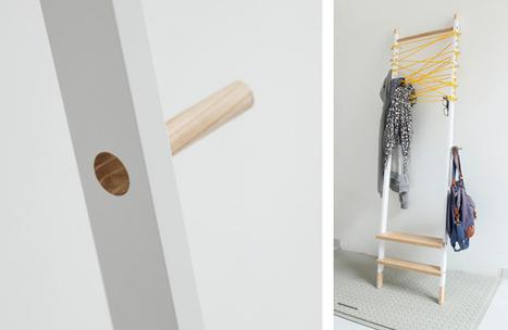 Storage is different - hang your clothes there ! by A. Mazur | Du mobilier, ou le cahier des tendances détonantes | Scoop.it