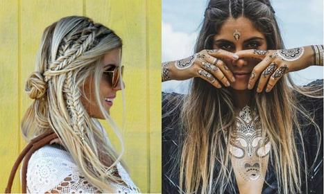 Festival haartrends 2016: Dit zijn de hipste trends voor dit festivalseizoen - Beautify | Kapsels voor vrouwen | Scoop.it