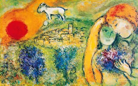 Chagall | CHIOSTRO DEL BRAMANTE | Art in Rome | Art in Rome | Scoop.it