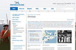 GénéInfos: Nouvelle-Ecosse : un site Web généalogique lancé en français | Rhit Genealogie | Scoop.it